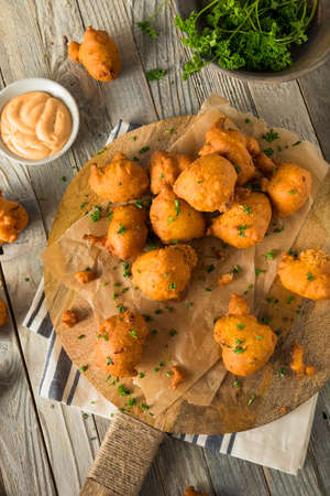 stuffing: Homemade Deep Fried Hush Puppy Corn Fritters