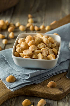 Roasted Macadamia Nuts with Sea Salt and Spices