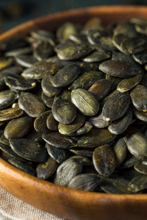 snacking: Dry Salted Organic Pepita Pumpkin Seeds for Snacking