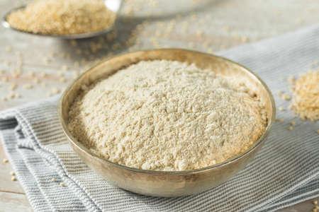 Raw Organic Quinoa Flour in a Bowl