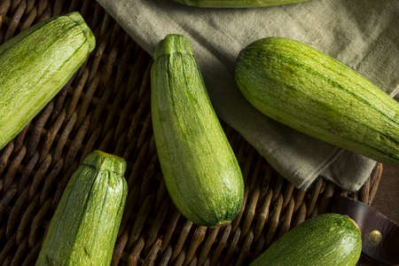 Green Speckled Organic Mexican Squash Ready to Use Stock Photo