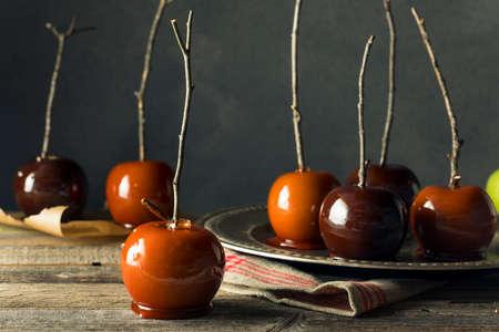 Pommes de bonbons fantaisie fantaisie pour halloween Banque d'images - 88606590