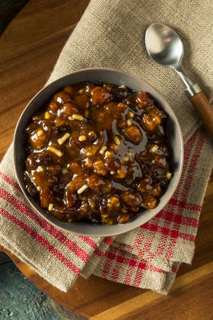 Organic Homemade Mincemeat Filling for Holiday Pie
