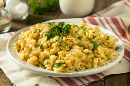 Savory Homemade German Spaetzle in a Butter Sauce
