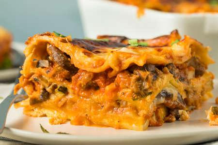 Savory Homemade Italian Beef Lasagna with Cheese and Sauce