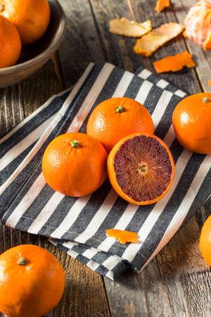 Raw Organic Ruby Tango Blood Orange Clementines Ready to Eat Reklamní fotografie