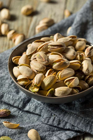 Roasted and Slated Pistachio Nuts in the Shell
