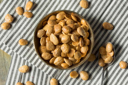 Healthy Organic Roasted Marcona Almonds with Salt