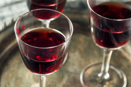 Sweet Port Dessert Wine ready to Drink Foto de archivo