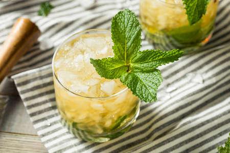 Homemade Derby Mint Julep with Kentucky Bourbon