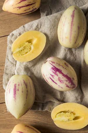 prima orgánico melones blancos listos listos para comer