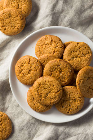 Homemade Ginger Snap Cookies Ready to Eat 스톡 콘텐츠 - 113873661