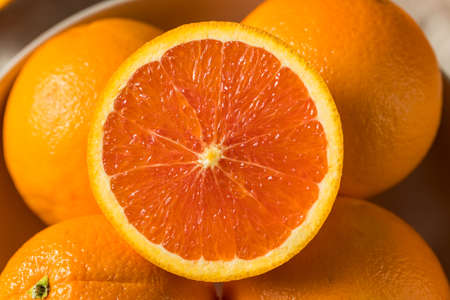 Raw Organic Caracara Oranges Ready to Eat Stock Photo