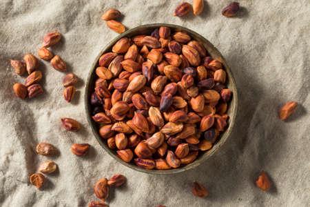 Raw Organic Jungle Peanuts in a Bowl