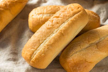 Homemade Italian Sandwich Bread Loafs Ready to Slice