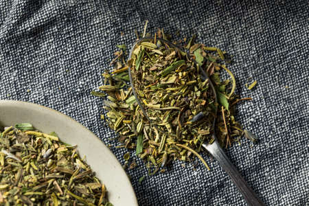 Organic Dry Herbs De Provence in a Bowl