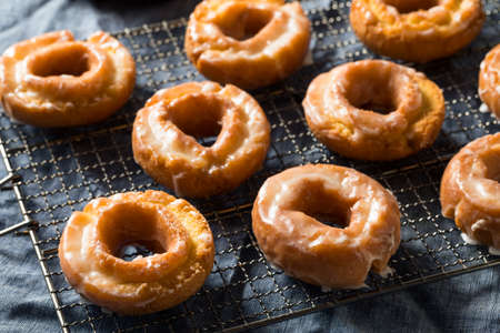 Homemade Old Fashioned Donuts Ready to Eat