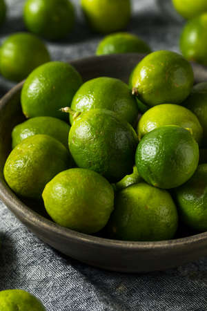 Raw Green Organic Key Limes Ready to Eat