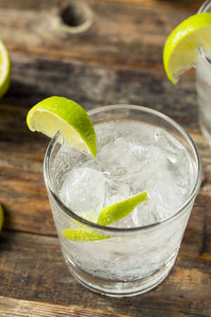 Refreshing Boozy Gin and Tonic with Lime