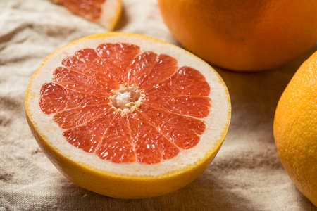Raw Organic Ruby Red Grapefruit Ready to Eat