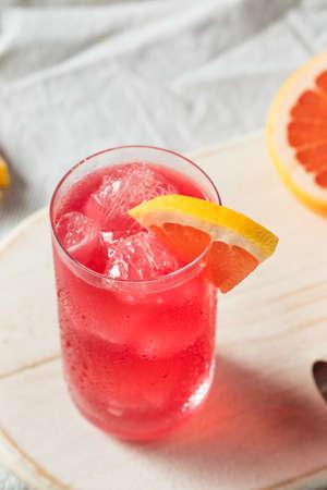 Boozy Refreshing Sea Breeze Cocktail with Grapefruit and Vodka Banco de Imagens