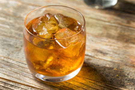 Boozy Refreshing French Connection Cocktail with Cognac