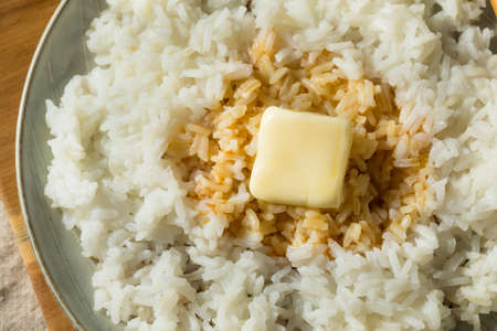 Homemade Japanese Butter Rice with Soy Sauce