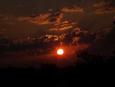 Sunrise bringing a new day Stock Photo