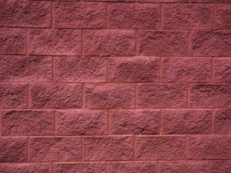 pink block wall
