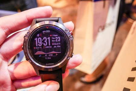 Garmin Fenix 5 Smart Watch has been Unveiled in Thailand.