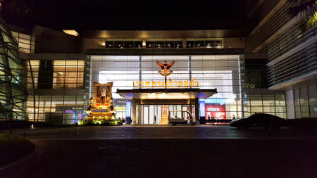BANGKOK, THAILAND - JULY 21, 2018: King Power Rangnam, the biggest duty free mall that established in 1989 by Wichai Srivattanapropha