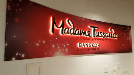 BANGKOK, THAILAND - DECEMBER 21, 2017: Madame Tussauds Bangkok, the only one branch of Marie Tussaud in Thailand is opening to service a tourism from around the world.