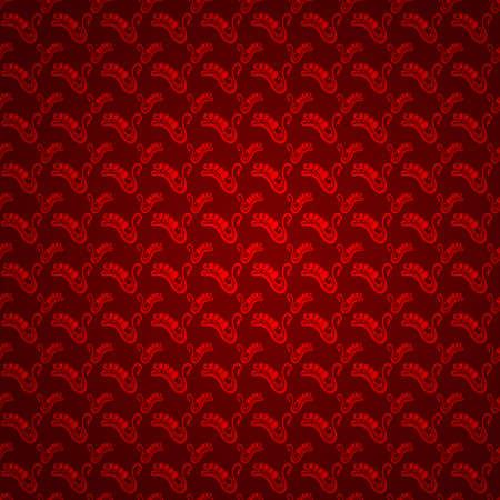 Christmas pattern background Stock Photo