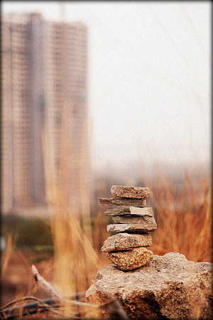 stepping stones Stock fotó