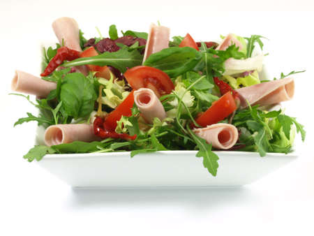 starter: Green salad tasty for lunch, dinner or appetizer Stock Photo