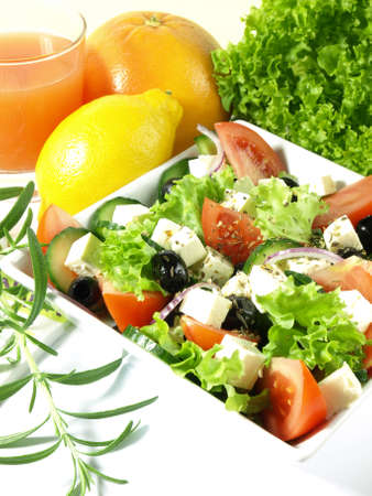 Light salad from italian cuisine photo