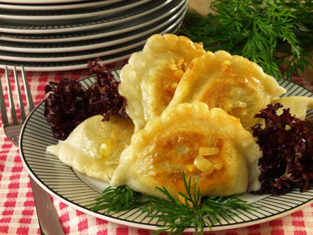 Original Polish pierogi for Christmas photo