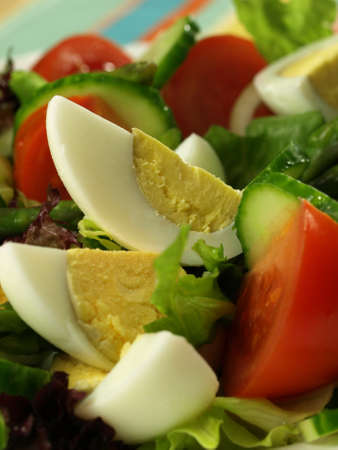 lowfat: Vital low-fat vegetarian salad  Closeup