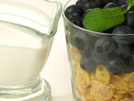 dietetic: Morning dietetic meal witch muesli