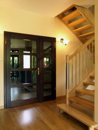Door: entrance to the luxury house photo