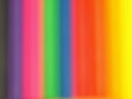 diffuse: Delicate rainbow background, diffuse color,closeup of crayons Stock Photo