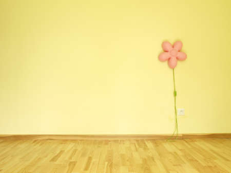 Children s empty room Stock Photo - 14608991