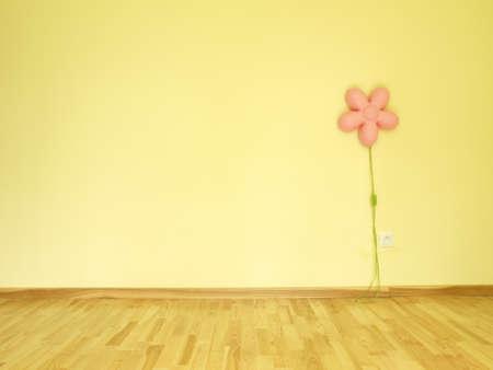 Children s empty room