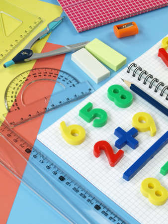 First math classes Stock Photo - 14974536