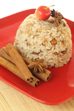 arroz dulce con canela