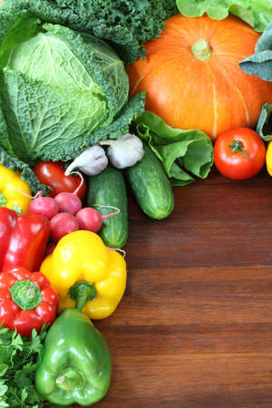 agriculture wallpaper: Wallpaper with appetizing fresh vegetables and fruits