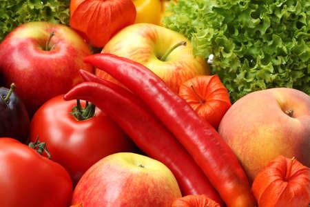 food stuff: Wallpaper of autumn colorful food stuff, closeup