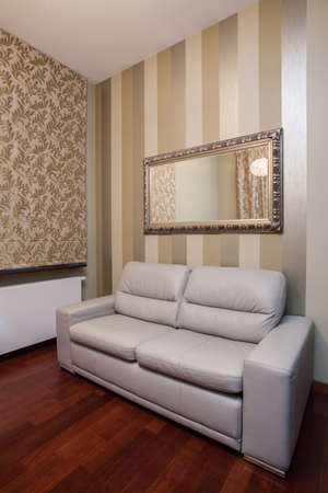 Travertine house- Elegant decoration in room Stock Photo - 16841966