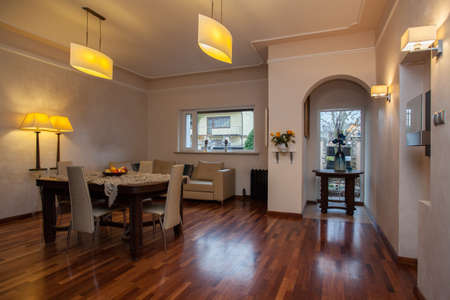 cloudy home: Cloudy home - Elegant bright living room interior
