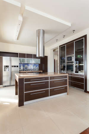 classy house: Classy house - interior of a contemporary kitchen